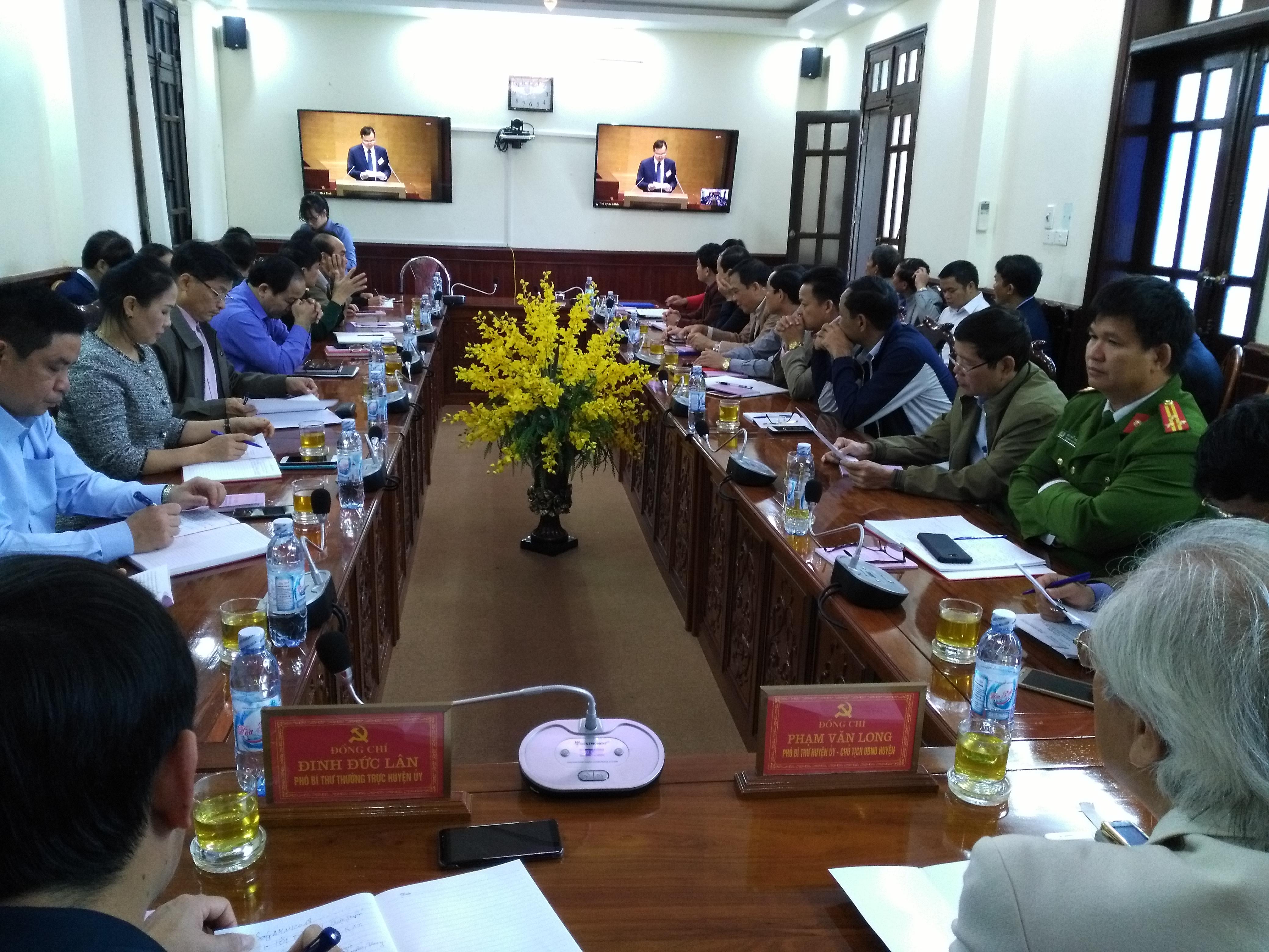 Hội nghị trực tuyến toàn quốc học tập, quán triệt, triển khai các nội dung Hội nghị Trung ương 8